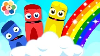 Learn Rainbow Colors with Color Crew | Colors For Kids | BabyFirst TV