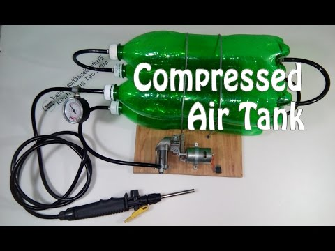 How to make compressed air tank simple