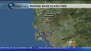 2 Marines Injured In Fire At Miramar Station