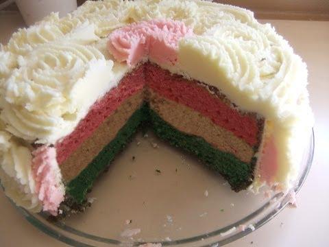 Ribbon / Multi Colour Cake