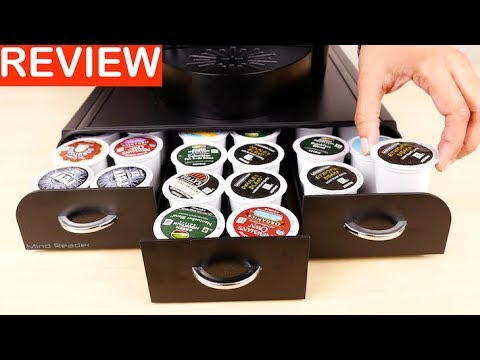 Mind Reader Anchor Triple Drawer Single Serve Coffee Pod Holder Review