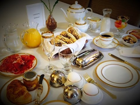 Serving It In Style (Continental Breakfast)