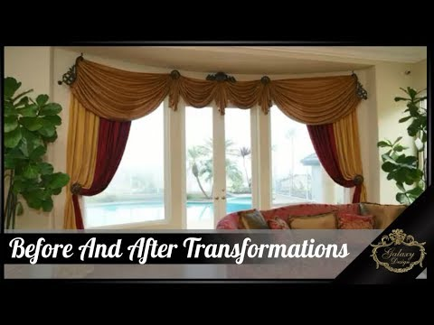 Ready To Install - Before And After Drapery Transformations | Galaxy Design Video #174