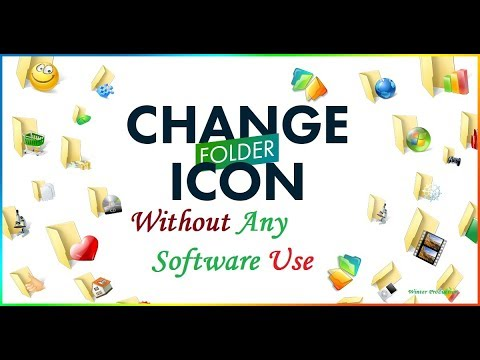 How to Change Folder Background Icon Use Your Own Photo [ Without Any Software ]