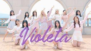 [AB] IZ*ONE 아이즈원 - 비올레타 Violeta    커버댄스 DANCE COVER