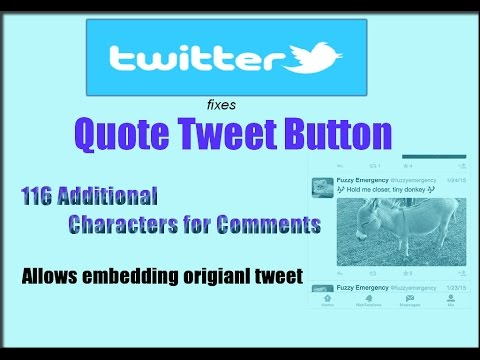 Twitter fixes