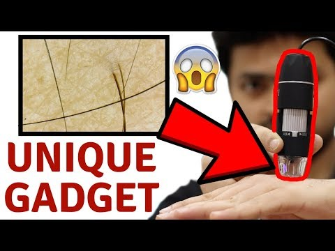 Unique Gadget | Digital Microscope with 1000x zoom unboxing & Review | Tech Unboxing 🔥