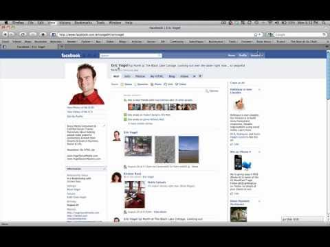 Facebook Privacy Settings Overview/Setup