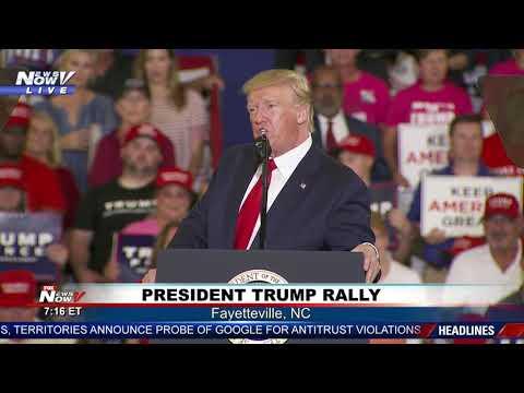 FULL RALLY: President Donald Trump in Fayetteville, North Carolina