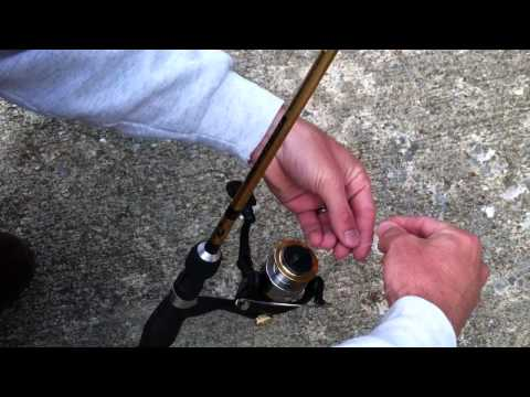How to put fishing line on a Spinning Reel
