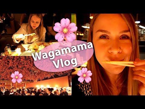 Wagamama taste test - new menu! London food vlog