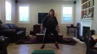 Ella Me Copia Zumba With Judi - Zumba Step Choreography (zumba Fitness Zin 49