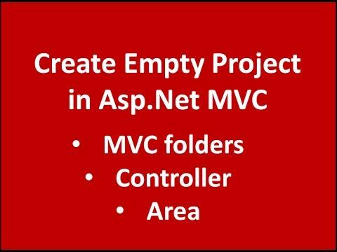 Creating Basic MVC Application in Asp.net MVC using Visual Studio 2015