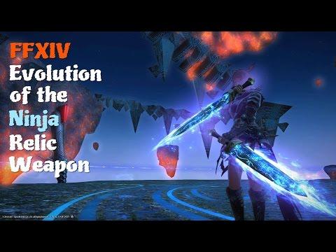 FFXIV Evolution of the Ninja Relic Weapon [Feat. Ninja Theme (The Edge)]