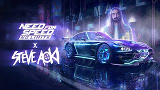 Need for Speed No Limits - Steve Aoki Neon Future Gameplay Trailer