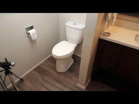 Laminate Floor under Toilet. Fix it All