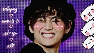 taehyung moments to make you smile