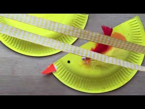 How to Make a Paper Plate Purse for Spring   Chicks & Bunny