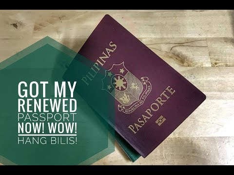 Renewing Philippine Passport In Dubai In Just Three Weeks! Super-bilis po!