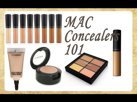 MAC Concealers; The Ultimate Guide!!