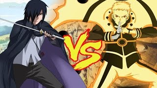 Naruto VS Sasuke Quien es mas PODEROSO? Confirmado por Kishimoto