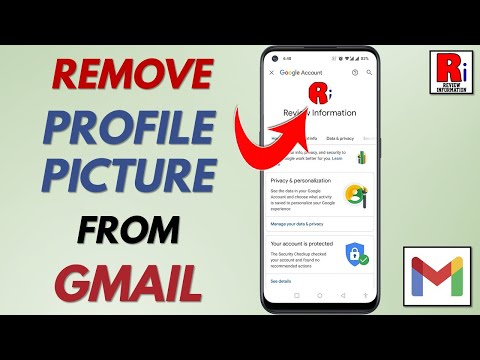 REMOVE PROFILE PICTURE OF GMAIL ACCOUNT FROM ANDROID