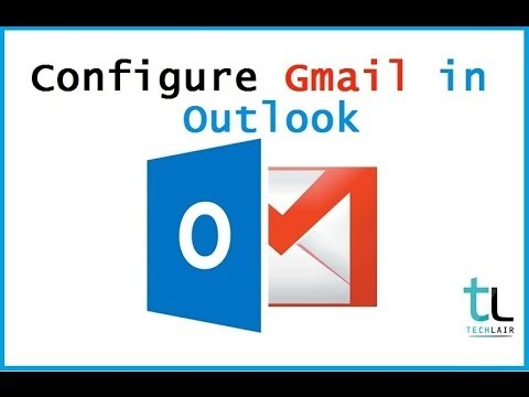 configure gmail in outlook 2013 | POP3 & IMAP