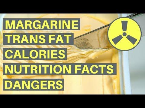 Margarine Trans Fat, Calories, Nutrition Facts & Dangers!