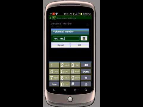 Voicemail Setup GS3 S4