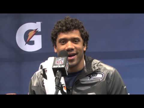 Super Bowl 2014: Russell Wilson: My Bruno Mars hair is a good luck charm