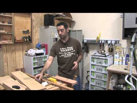 184 - Coves on the Tablesaw & the Parallelogram Cove Jig