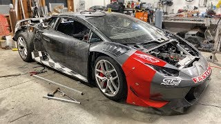 Lowering the Huracan, Fixing Brakes, Testing Exhaust, All Sorts of Good Stuff!