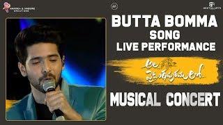 Butta Bomma Live Performance @ Ala Vaikunthapurramuloo Musical Concert | Armaan Malik, Thaman