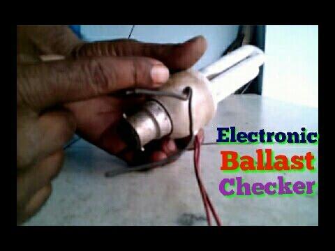 ELECTRONIC BALLAST CHECKER