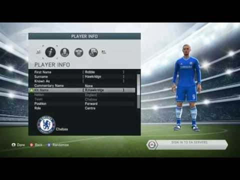Fifa 14 HOW TO PLAY WITH YOUR CREATED PLAYER!!!!!!!!!!