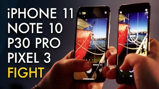 Is iPhone 11 the New King of Night Mode? [Vs. Pixel 3, Galaxy Note 10, P30 Pro]
