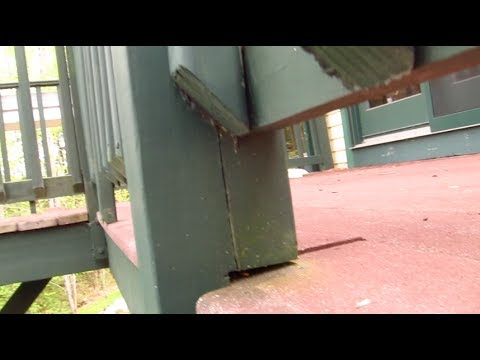 Deck Railing Post DANGER - How to Connect