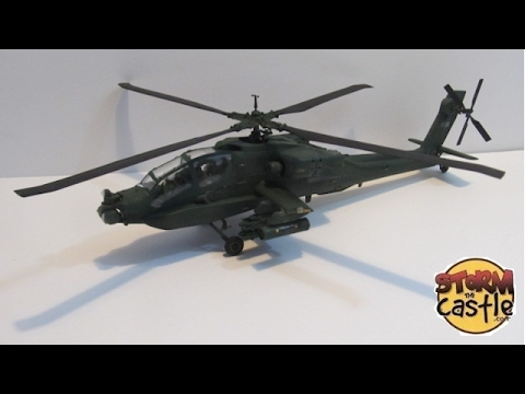 Build an Apache Helicopter Plastic Model 1:48 scale by Revell