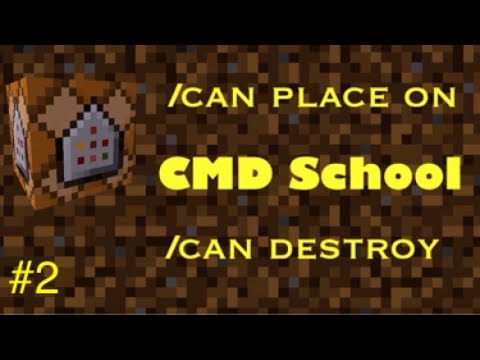 Can Place On & Can Destroy CMD | CMDB School (Advanced)