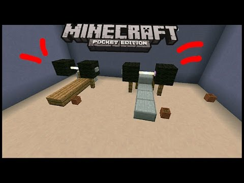 👉Minecraft Pocket Edition: How to build Weights