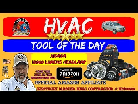 Headlamp : HVAC Tool of the Day