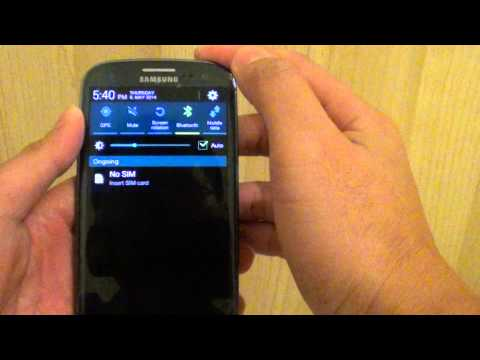 Samsung Galaxy S5: How to Share Internet Connection Via Bluetooth