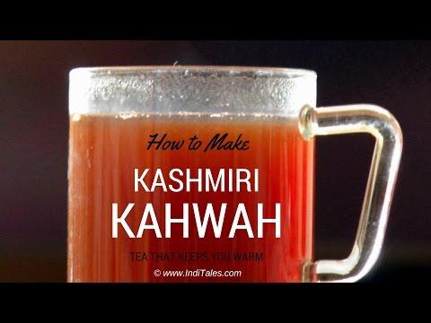 How to make Kashmiri Kahwah