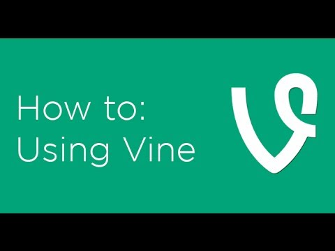 How to use Vine, a video-sharing app