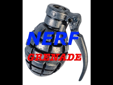 How To: Make a Nerf Grenade! (EASY)