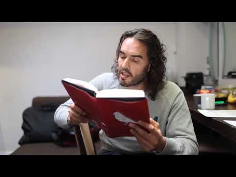 Russell Brand reading from The Finch in My Brain - Hodder & Stoughton