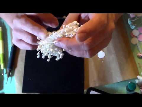 Millinery flower tutorial