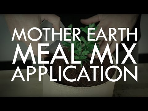 Mother Earth Meal Mix - How to Blend and Top Dress