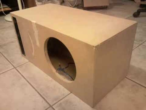 Sub Box Conversion (Dual Sealed To Single Ported)