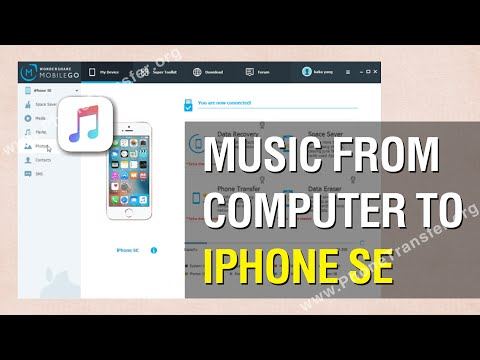 How to Transfer Music from Computer to iPhone SE Easily